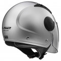 Casco jet LS2 Helmets OF562 AIRFLOW L SOLID Silver