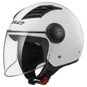 Casco jet LS2 Helmets OF562 AIRFLOW L SOLID White