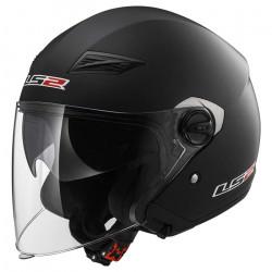 Casco jet LS2 Helmets OF569 TRACK SOLID Matt-Black
