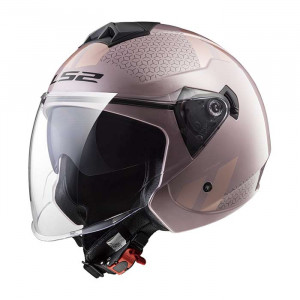 Casco jet LS2 OF573 TWISTER Combo Pale Pink
