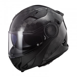 Casco convertible LS2 Helmets FF313 VORTEX SOLID Carbon
