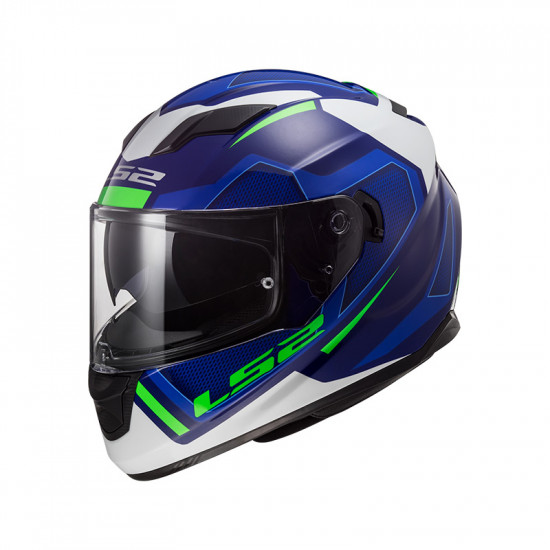 SUPEROFERTA Casco integral LS2 Helmets FF320 STREAM EVO AXIS White Blue