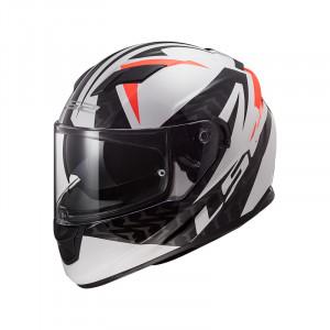 SUPEROFERTA Casco integral LS2 Helmets FF320 STREAM EVO COMMANDER White Black Red