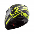 Casco integral LS2 Helmets FF320 STREAM EVO JINK Matt Black HV Yellow