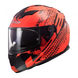 SUPEROFERTA Casco integral LS2 Helmets FF320 STREAM EVO LAVA Fluo Orange Black