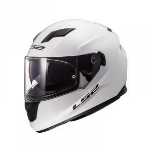 Casco integral LS2 Helmets FF320 STREAM EVO SOLID White
