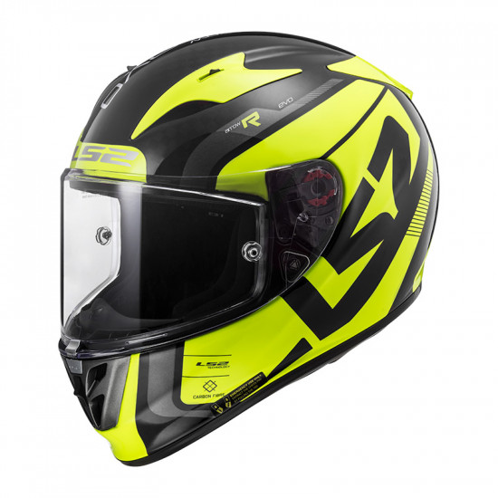Casco integral LS2 Helmets FF323 ARROW C EVO Wineberry H-V Yellow > REGALO: Pantalla ahumada