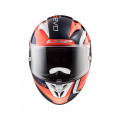 Casco integral LS2 Helmets FF323 ARROW C EVO Sting Blue Fluo Orange > REGALO: Pantalla ahumada