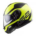 SUPEROFERTA Casco convertible LS2 Helmets FF325 STROBE ZONE Black H-V Yellow