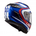 Casco integral LS2 FF327 Challenger Fusion Blue Red