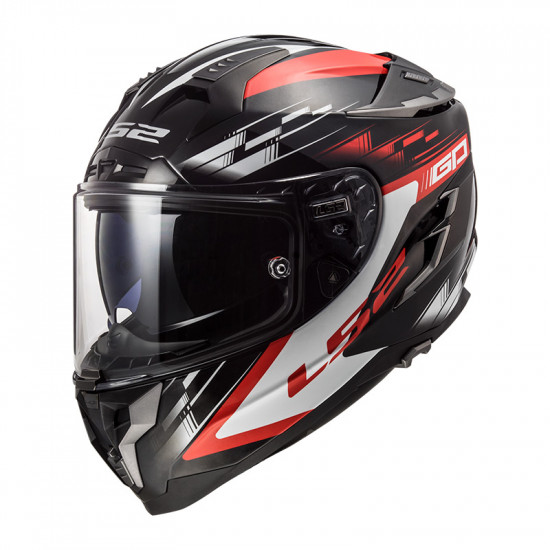 Casco integral LS2 FF327 Challenger GP Black Red