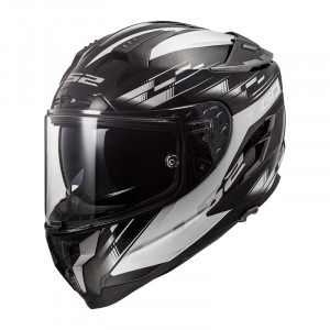 Casco integral LS2 FF327 Challenger GP Black White