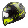 SUPEROFERTA Casco integral LS2 Helmets FF353 RAPID Carrera Matt Black H-V Yellow