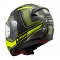 Casco integral LS2 Helmets FF353 RAPID Carrera Matt Black H-V Yellow