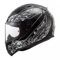 Casco integral LS2 Helmets FF353 RAPID Crypt Black White