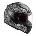 Casco integral LS2 Helmets FF353 RAPID Crypt Black White