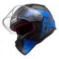 SUPEROFERTA Casco integral LS2 Helmets FF353 RAPID DeadBolt Matt Black Blue