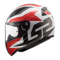 SUPEROFERTA Casco integral LS2 Helmets FF353 RAPID Grid White Red