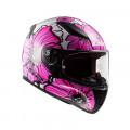 Casco integral LS2 Helmets FF353 RAPID Poppies Pink
