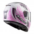 Casco integral LS2 FF390 BREAKER Rumble White Pink