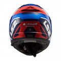 Casco integral LS2 FF390 BREAKER Android Blue Red