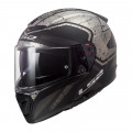 Casco integral LS2 FF390 BREAKER Bold Matt Black Titanium