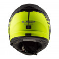 Casco integral LS2 FF390 BREAKER Feline Matt Black H-V Yellow