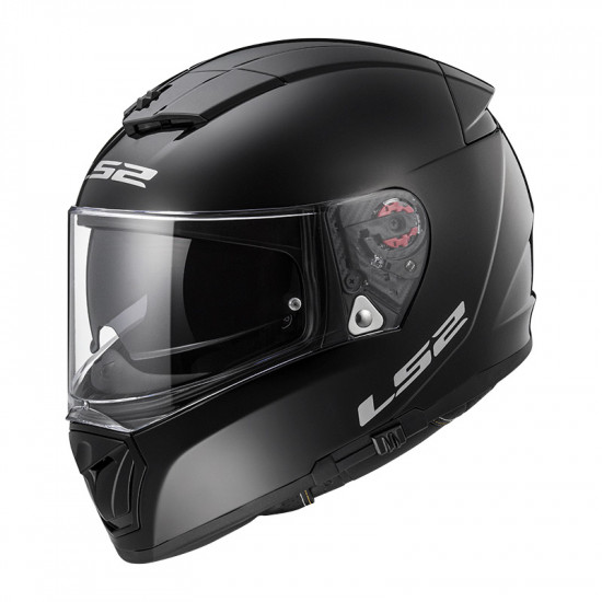 Casco integral LS2 FF390 Breaker Solid Black