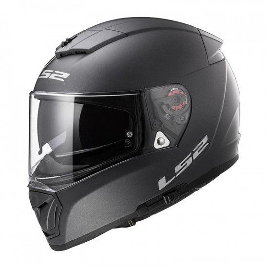 Casco integral LS2 FF390 Breaker Solid Matt Titanium