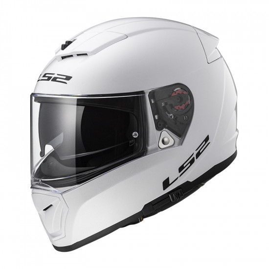 Casco integral LS2 FF390 Breaker Solid White