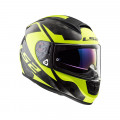 Casco integral LS2 Helmets FF397 VECTOR C EVO SHINE Carbon H-V Yellow