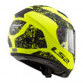 Casco integral LS2 Helmets FF397 VECTOR HPFC EVO SIGN Matt HV Yellow Black