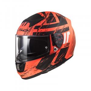 Casco integral LS2 Helmets FF397 VECTOR HPFC EVO HUNTER Matt Fluo Orange Black