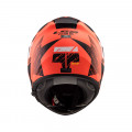 Casco integral LS2 Helmets FF397 VECTOR HPFC EVO HUNTER Matt Fluo Orange Black