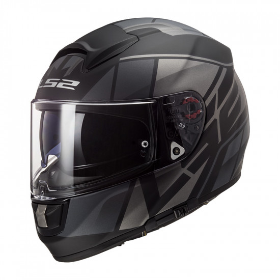 Casco integral LS2 Helmets FF397 VECTOR HPFC EVO Kripton Matt Black Titanium