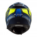 SUPEROFERTA Casco integral LS2 Helmets FF397 VECTOR HPFC EVO Kripton Matt Blue H-V Yellow