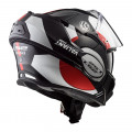 SUPEROFERTA Casco convertible LS2 Helmets FF399 VALIANT AVANT White Black Red