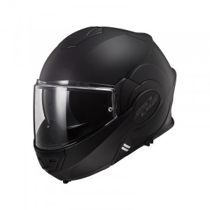 Casco convertible LS2 Helmets FF399 VALIANT NOIR Matt Black