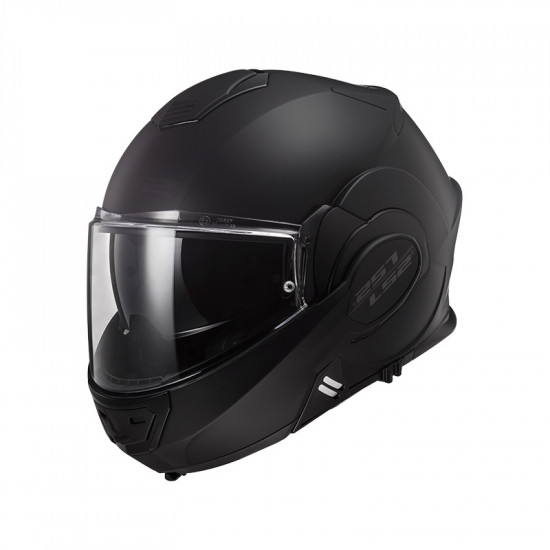 Casco convertible LS2 Helmets FF399 VALIANT NOIR Matt Black