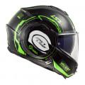 SUPEROFERTA Casco convertible LS2 Helmets FF399 VALIANT NUCLEUS Black Grow-Green