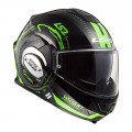 Casco convertible LS2 Helmets FF399 VALIANT NUCLEUS Black Grow-Green