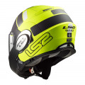 Casco convertible LS2 Helmets FF399 VALIANT PROX Matt HV Yellow Black