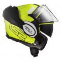 Casco convertible LS2 Helmets FF399 VALIANT PROX Matt HV Yellow Black