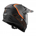 Casco cross/enduro LS2 Helmets MX436 PIONEER ELEMENT Matt Tittanium Black