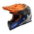 SUPEROFERTA Casco cross/enduro LS2 Helmets MX437 FAST CORE Black Gloss Orange