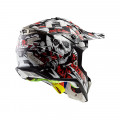 Casco cross/enduro LS2 Helmets MX470 SUBVERTER Voodoo Black White Red