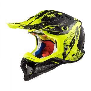 SUPEROFERTA Casco cross/enduro LS2 Helmets MX470 SUBVERTER Claw Matt Black HV Yellow