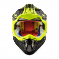 Casco cross/enduro LS2 Helmets MX470 SUBVERTER Claw Matt Black HV Yellow