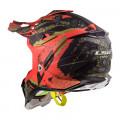 SUPEROFERTA Casco cross/enduro LS2 Helmets MX470 SUBVERTER Emperor Matt Black Red