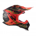 Casco cross/enduro LS2 Helmets MX470 SUBVERTER Emperor Matt Black Red